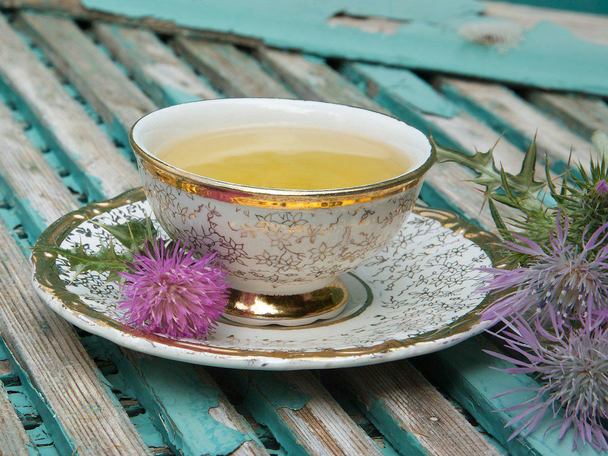 how to take milk thistle tea