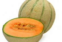 Half-cut-Muskmelon