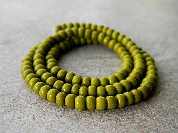 Olive seeds beads-Orībuoiru