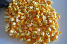 Chopped-Orange-peel