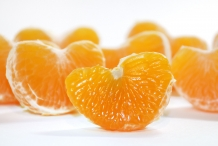 Orange-pulp