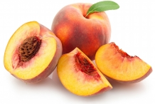 Half-cut-Peach-fruit