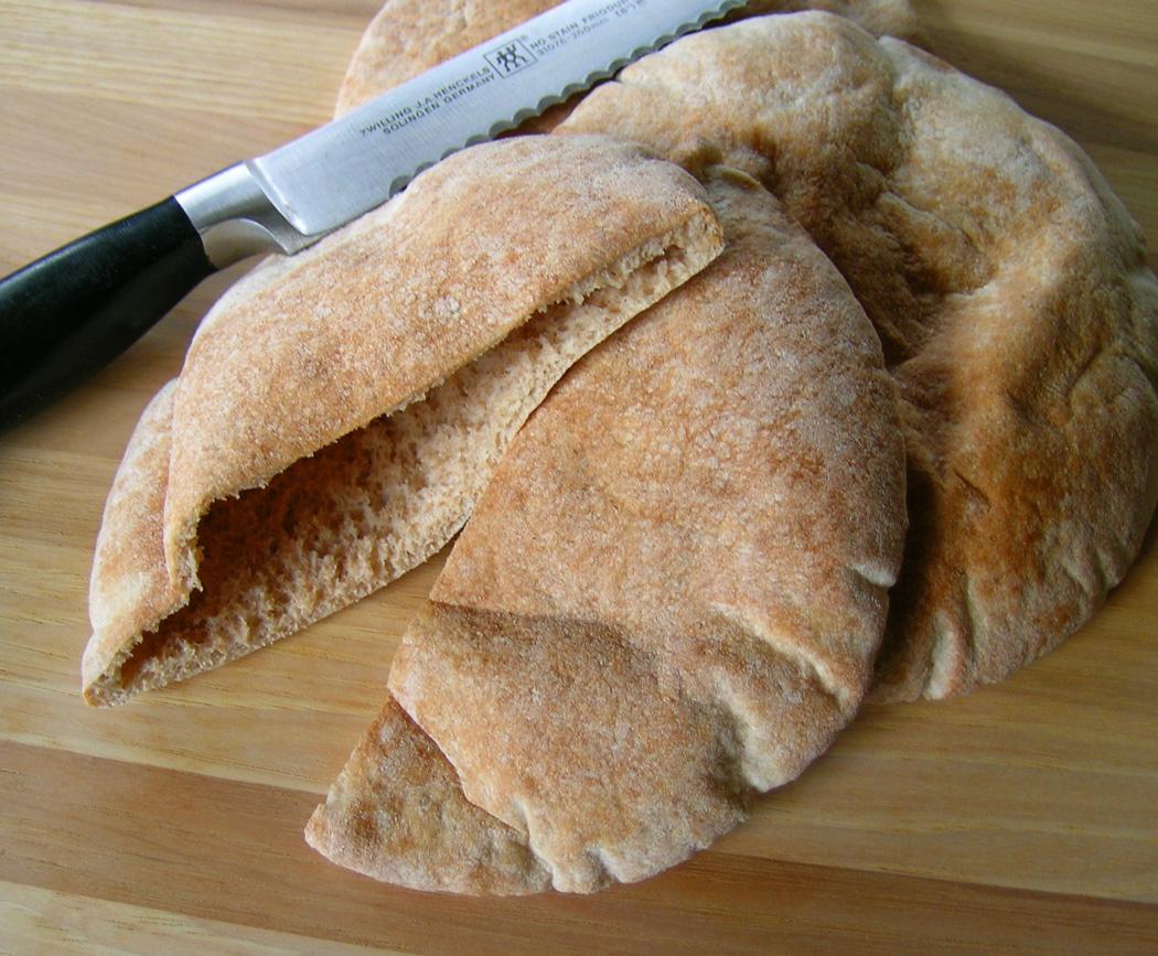 Half-cut-Pita-bread