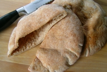 Half-cut-Pita-bread