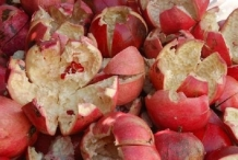Pomegranate peel