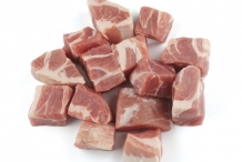 Pork-cubes