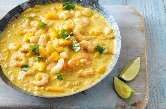 Prawn-and-Mango-Curry