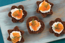 Canapé-Pumpernickel-Bread