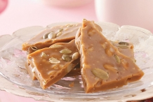 Pumpkin-seed-toffee