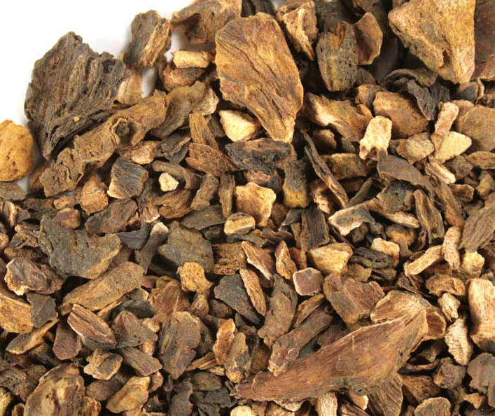Rhubarb-root-dried
