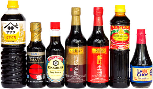 Different-brands-of-Soy-sauce