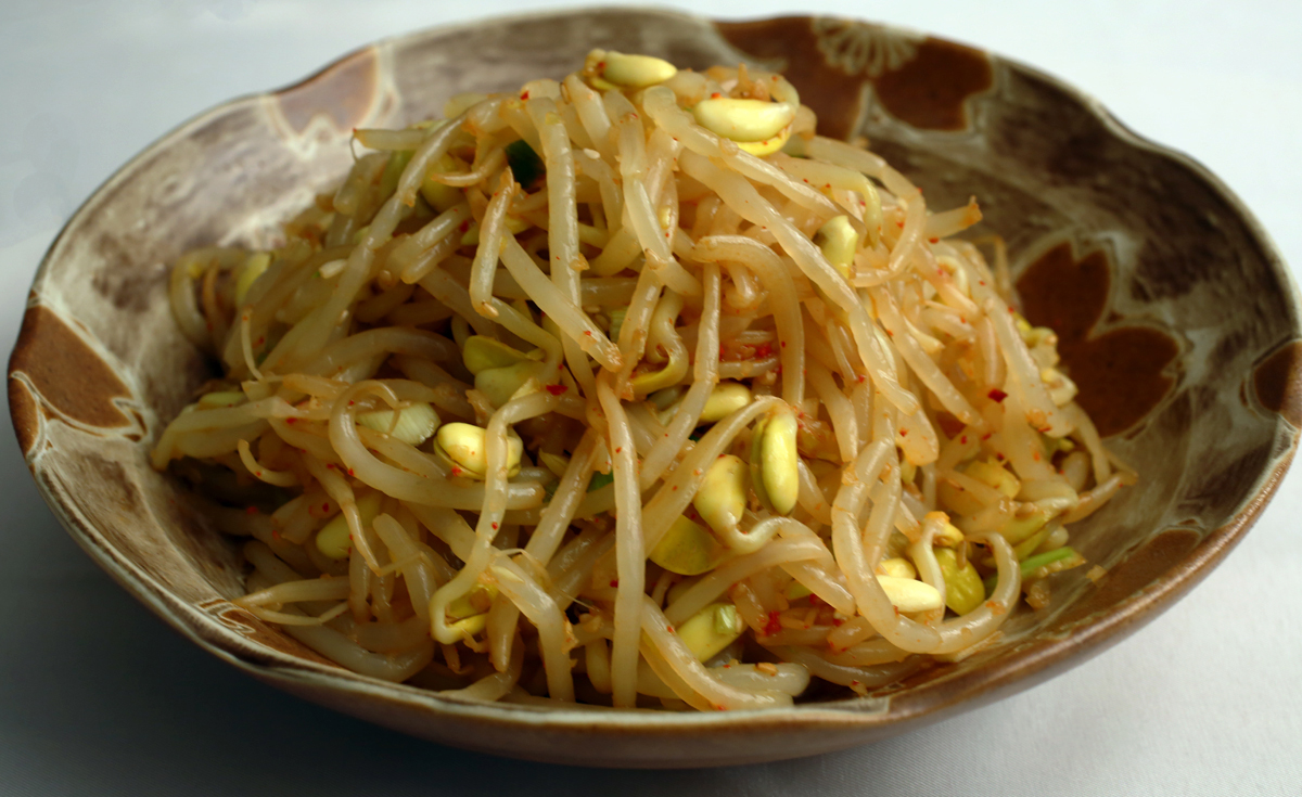 how to cook soybean sprouts