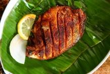 Spot-fish-fried