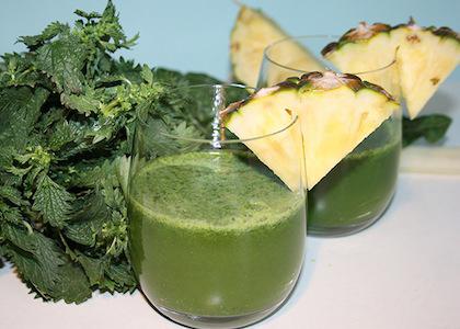 Stinging-nettle-juice