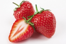 Half-cut-Strawberries