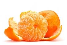 Tangerine-peeled