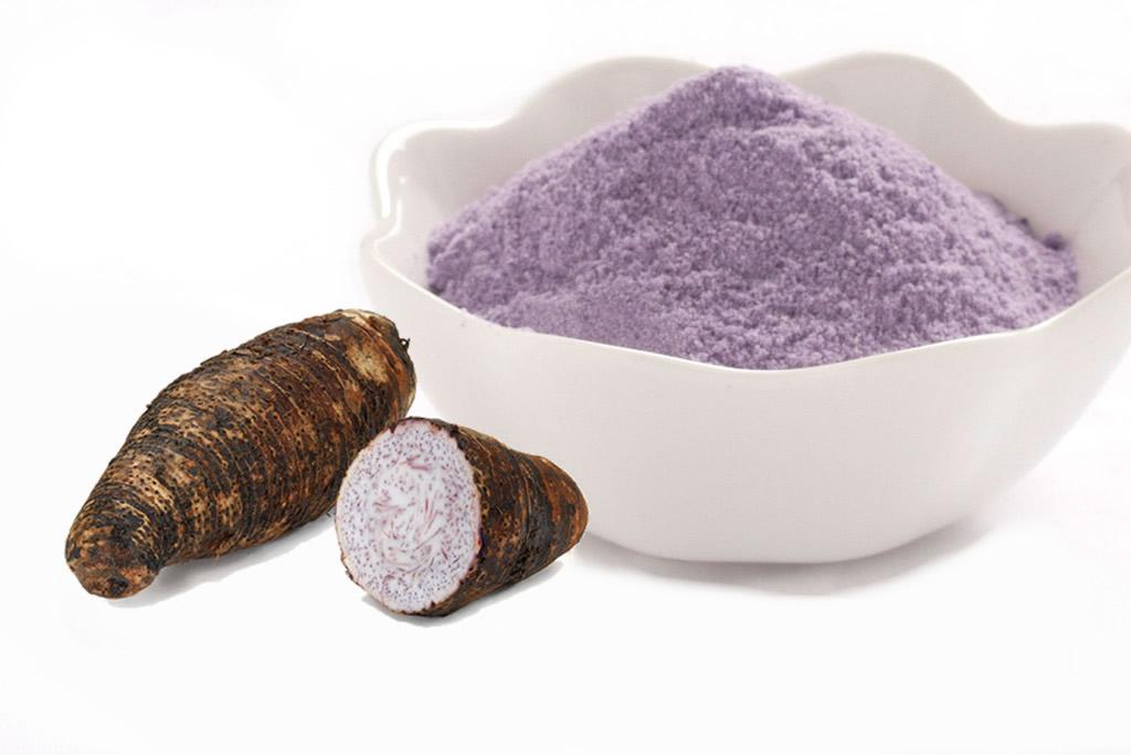 Taro-rhizome-powder