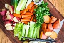 Ingredients of Vegetable broth