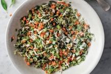 Salted-Herbs-with-Vietnamese-Coriander