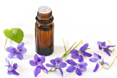 Essential-oil-of-Violet-plant
