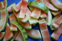 Watermelon-peel