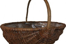 Basket-made-from-Willow-wood