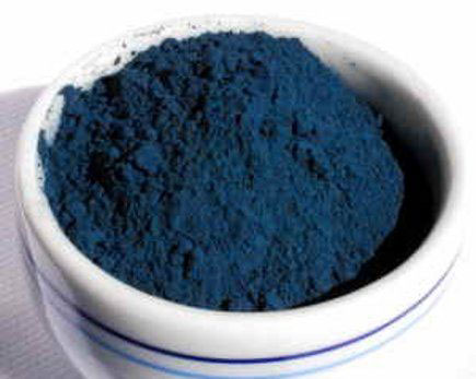 Blue-dye-obtained-from-Woad-Plant