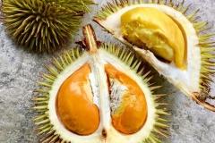 Half-cut-Yellow-Durian-fruit