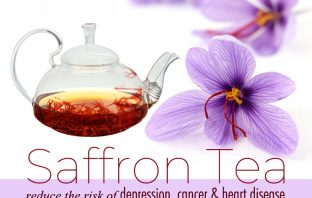 Health benefits of saffron-tea