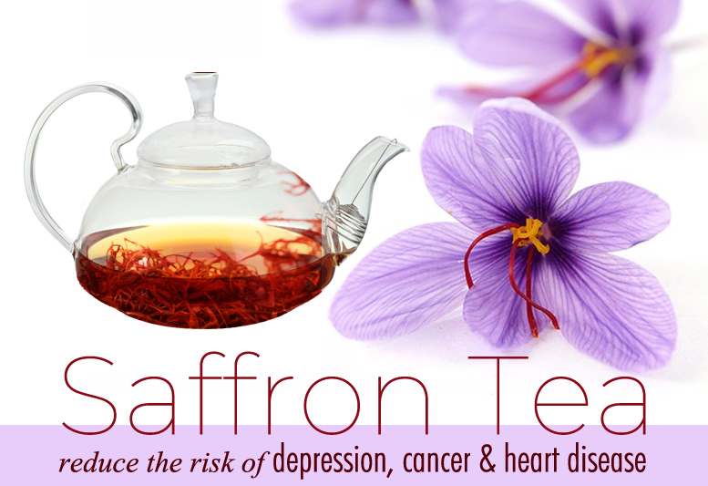 Saffron Tea Facts And Health Benefits