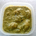 Aloo and Curry Leaves curry