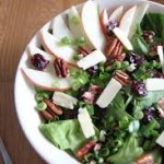Apple Pecan Cherry Salad