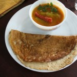 Wheat and Black gram Dosa