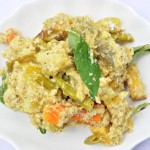 Avial (Mixed vegetables with ground coconut)