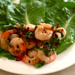 Chilli Rock Salt Prawns