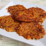 Gluten Free Yam Pancakes