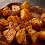 Grilled Potato Kebabs