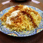 Vermicelli Desert with Almonds, Cinnamon & Culinary Argan Oil