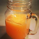 Grapefruit, orange and lemon detox juice