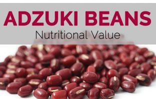 Adzuki beans Facts