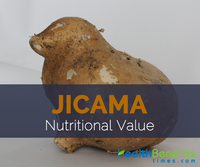 Jicama Nutritional value