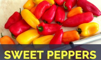 Sweet peppers facts and health benefits