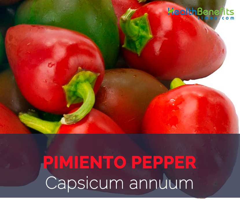 Pimiento pepper facts and health benefits
