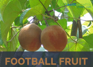 Football Fruit facts and health benefits