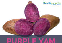 Purple yam facts and health benefits