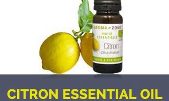 Citron essential oil facts and health benefits