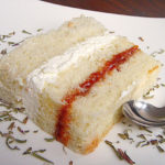 Hyssop and Rose Sponge Layer Cake