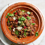 Lamb & cranberry tagine