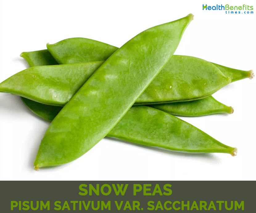 Health benefits of Snow Peas