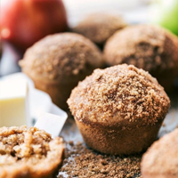 Healthy Applesauce Muffins